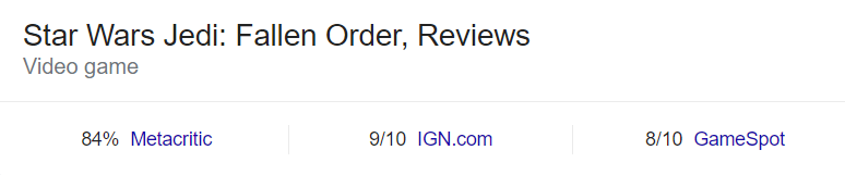 star wars jedi fallen order review scores