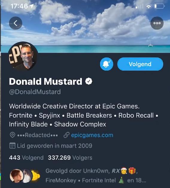 Epic director tweet