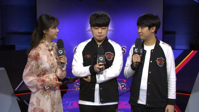 LCK host Mina