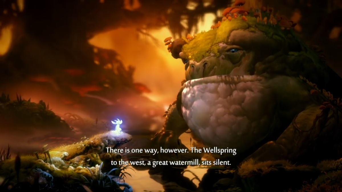 ori and the will of the wisps grpahics