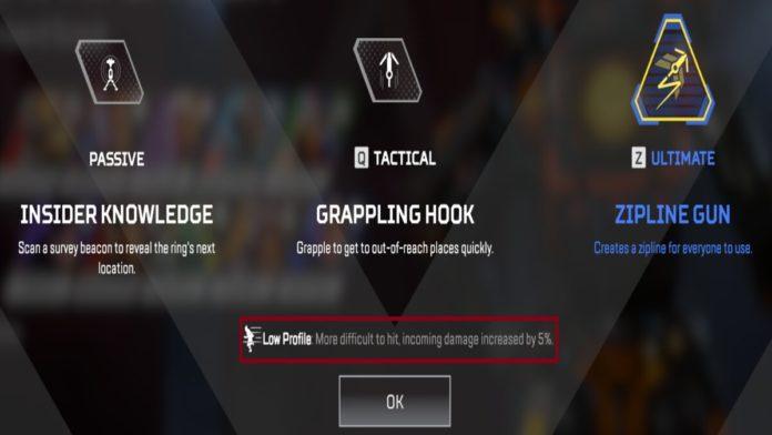Apex Legends Low profile
