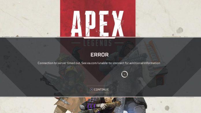 Apex server reconnect