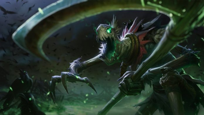 Fiddlesticks buff 10.9