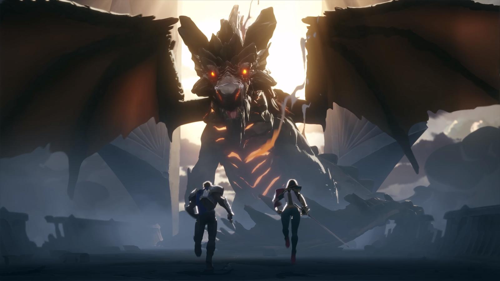 Tales of Runeterra Demacia dragon