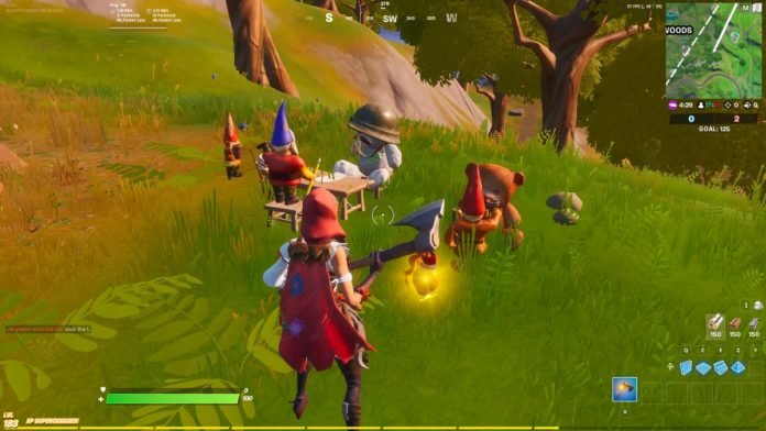 Fortnite teddy vs gnome truce