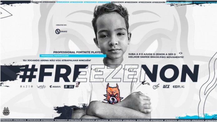 #FreeZenon Fortnite Streamer