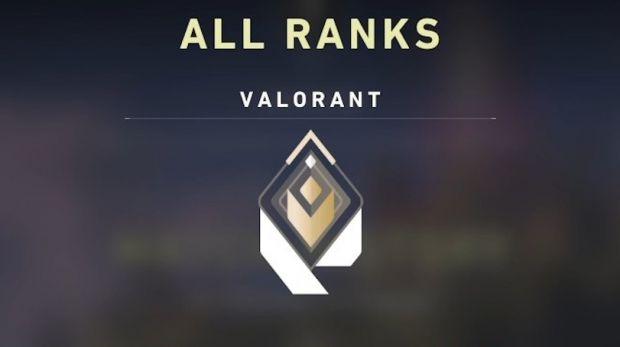 VALORANT rank