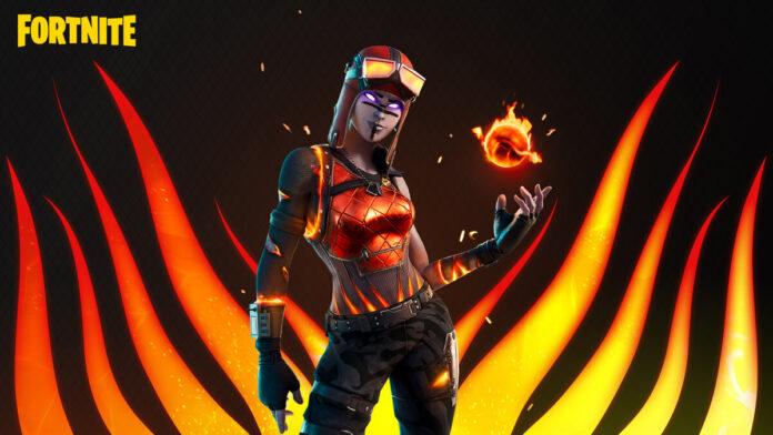 Fortnite Blaze Skin