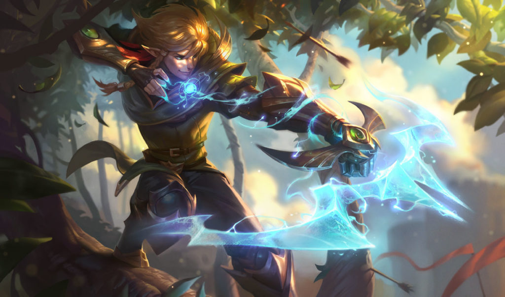 Ezreal win rate