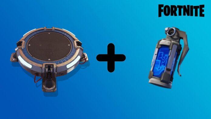 Fortnite Launchpad + decoy
