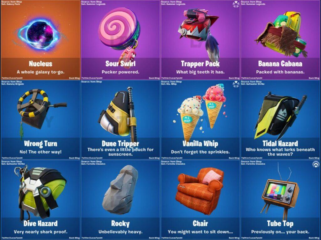 backblings added in 13.30 update