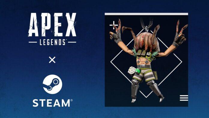 Apex steam free gun charm