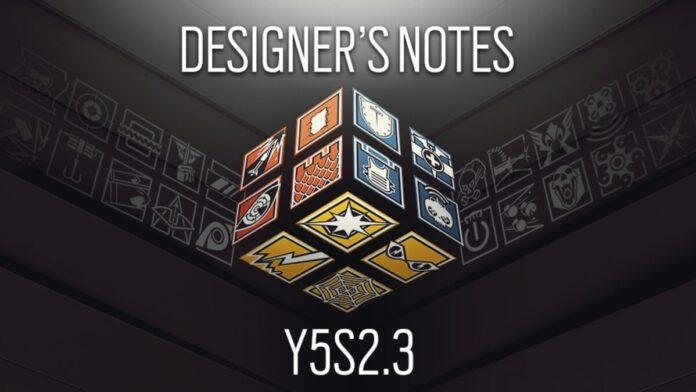 Desinger's notes y5s2.3