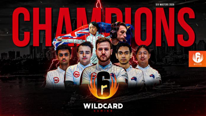 wildcard gaming win six masters 2020