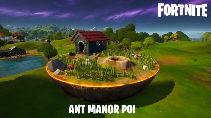 Fortnite Ant Manor POI