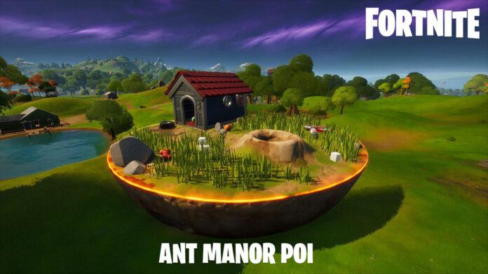 Fortnite Ant Manor POI