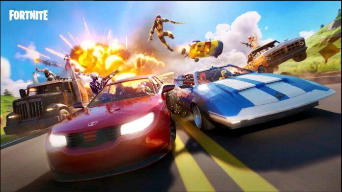 Fortnite Cars Teaser
