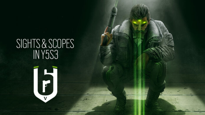Rainbow Six Siege new optics
