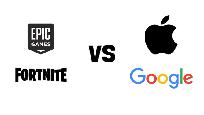 Epic games SUing Apple and Google