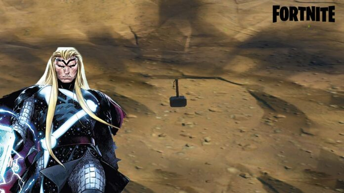 Thors Hammer Dropped in Fortnite