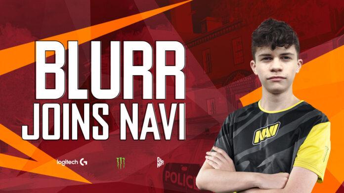 Blurr rejoins Navi esports