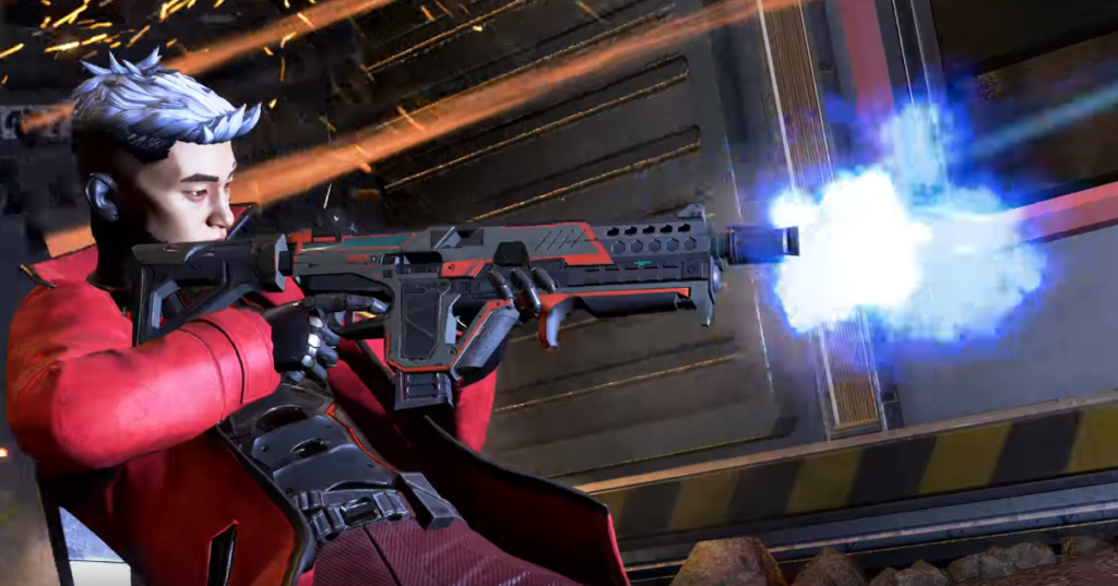 New weapon volt SMG