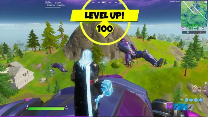 XP needed to max out Fortnite Season 4 Battle Pass