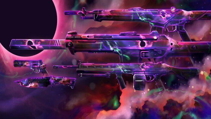 VALORANT Nebula skin collection