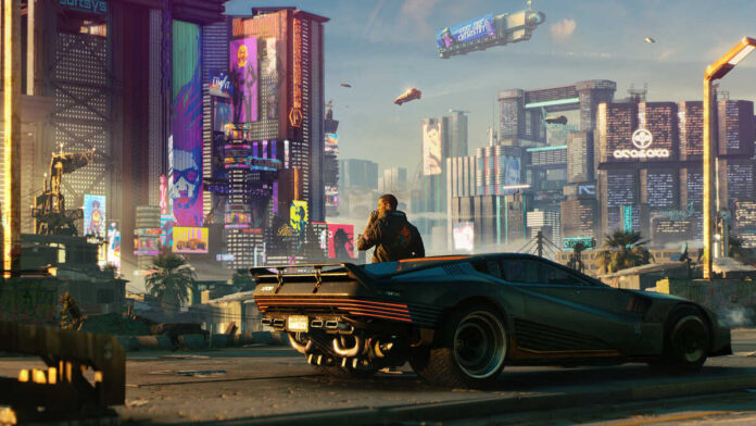 Cyberpunk2077's Night City Wire Stream