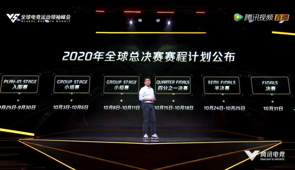 2020 Worlds Championship Schedule