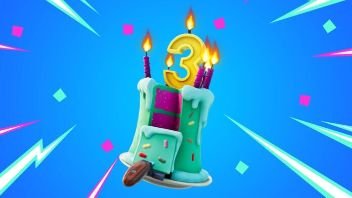 Fortnite 3rd Birthday is here