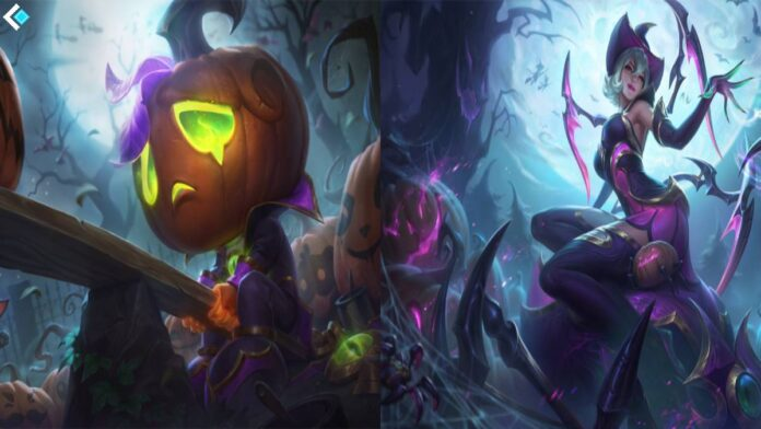 Halloween League Skins 2020 League of Legends 2020 Halloween Elise and Amumu skin allegedly