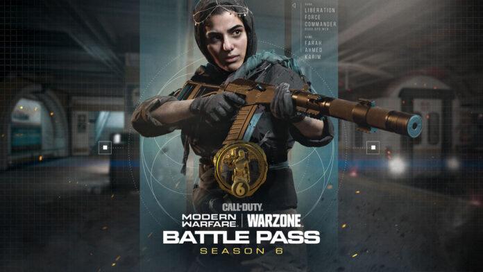 CoD Season 6 Battle Pass