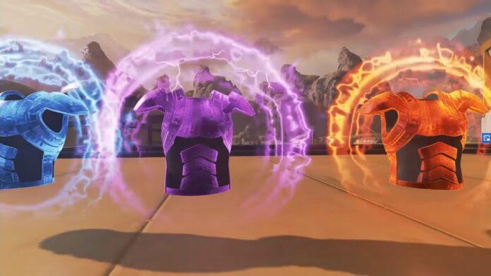 Evo Armor health changes