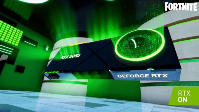 Nvidia Treasure Run RTX map
