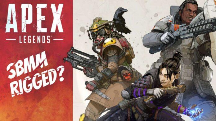 Pro player leaks reveals behind the scenes look at SBMM in Apex