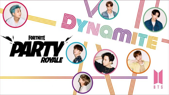BTS Coming to Fortnite Party Royale