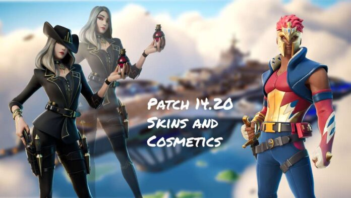 Fortnite patch 14.20 all leaked cosmetic items
