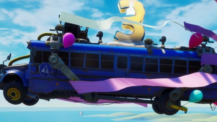 Fortnite 3rd Birthday Challenges and Rewards