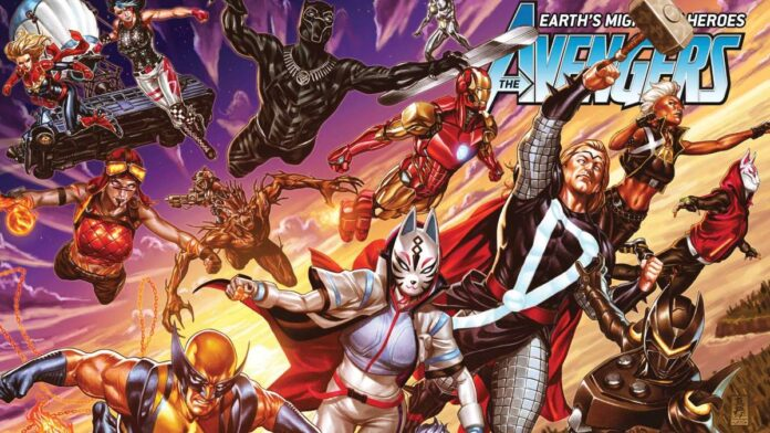 Fortnite X Marvel possible Crossover skins