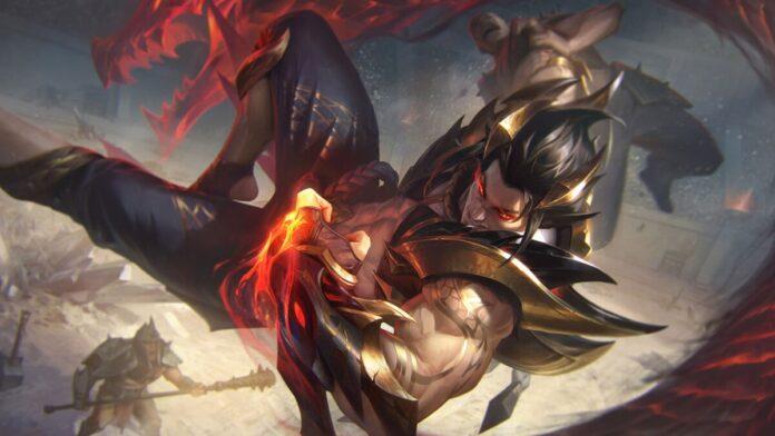 Obsidian Dragon Sett