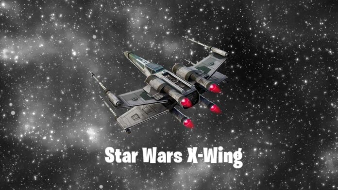 Star Wars X-Wing leaked for Fortnite
