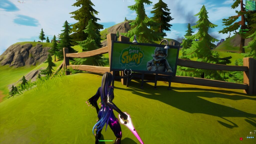 Fortnite Hidden Challenge The event of the year location