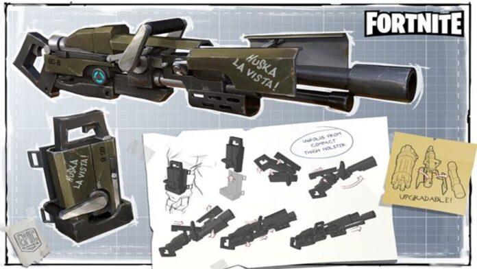 Fortnite Latest Gun Leaked