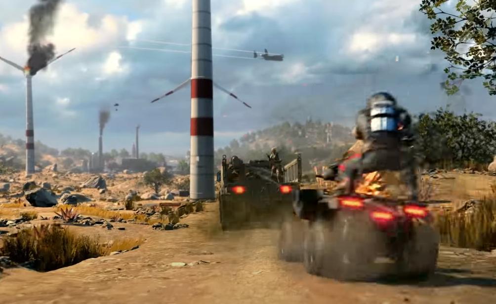 Black Ops 4 vehicle