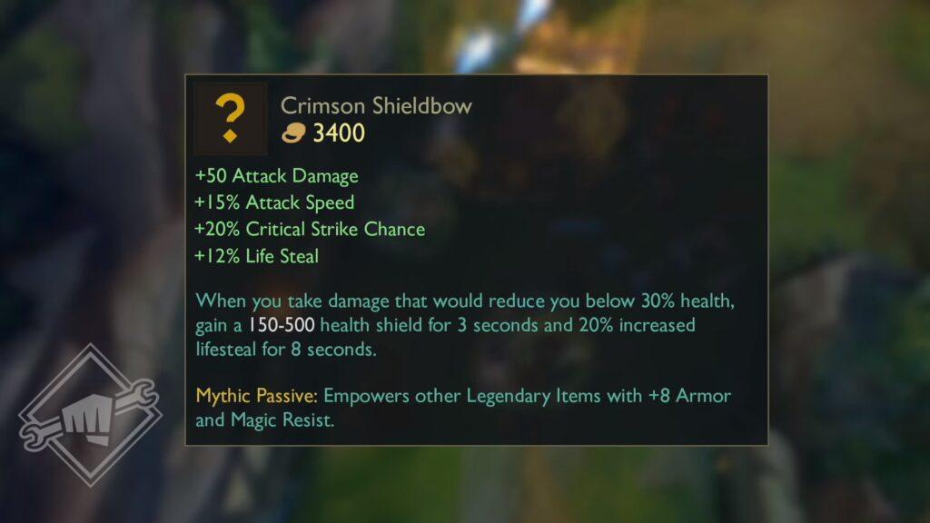 Crimson Shieldbow
