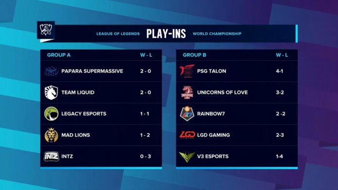 Worlds Play-ins day 3