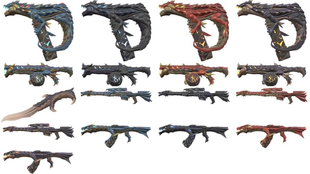 VALORANT skins variant patch 1.09
