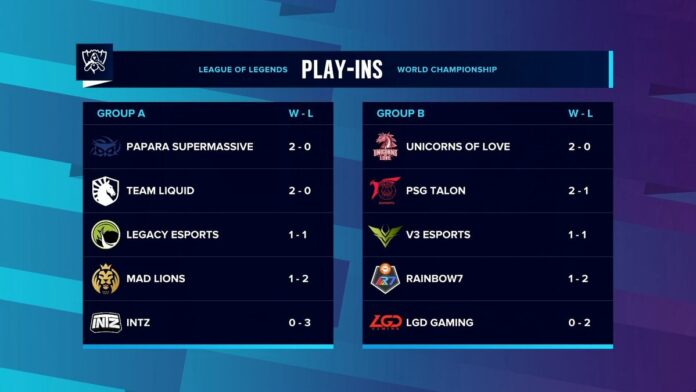 Play-ins Day 2