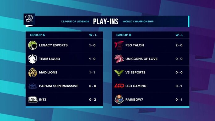 Worlds Play-ins Day 1